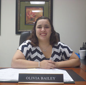 Olivia Bailey, Administrative Assistant